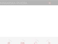 Frontpage screenshot for site: Makarska Riviera (http://www.makarska-riviera.com/)