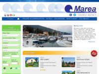 Frontpage screenshot for site: Marea (http://www.marea.hr)