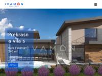 Frontpage screenshot for site: Ivamon nekretnine (http://ivamon.hr)
