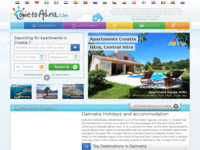 Frontpage screenshot for site: Apartmani Hrvatska (http://www.come-to-adria.com)