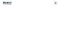 Frontpage screenshot for site: inox centar hoegger d.o.o (http://www.inoxch.hr)