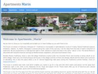 Frontpage screenshot for site: Podstrana Apartmani (http://www.podstrana-apartmani.com)