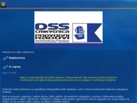 Frontpage screenshot for site: DSS Crikvenica (http://www.podvodni-radovi-dss.hr/)