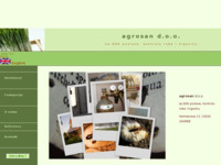 Frontpage screenshot for site: Agrosan d.o.o. Zagreb (http://www.agrosan.hr)