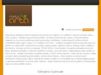 Frontpage screenshot for site: Oprema za bebe (http://www.mala-arta.com)