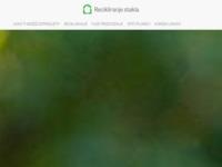 Slika naslovnice sjedišta: Recikliranje stakla (http://www.recikliranje-stakla.com/)