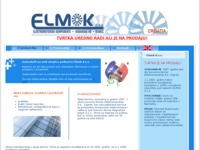 Slika naslovnice sjedišta: Elmok d.o.o. (http://www.elmok.hr)