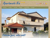 Frontpage screenshot for site: Apartmani Nin (http://www.apartments-nin.com/)