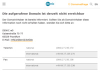 Frontpage screenshot for site: (http://www.revizija.de)