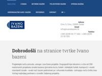 Slika naslovnice sjedišta: Ivano bazeni d.o.o. (http://www.ivanobazeni.hr)