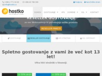 Frontpage screenshot for site: Hostko (http://www.hostko.hr)