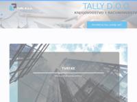 Slika naslovnice sjedišta: Tally d.o.o., Pazin (http://www.tally.hr)