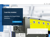 Frontpage screenshot for site: Lenze Antriebstechnik GmbH - predstavništvo Hrvatska (http://www.lenze.hr/)