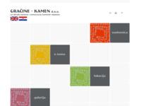 Slika naslovnice sjedišta: Gračine - Kamen d.o.o. (http://www.gracine-kamen.hr)