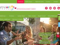 Frontpage screenshot for site: Etno Art Travel - Turistička agencija (http://www.etnoart-travel.com)
