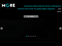 Frontpage screenshot for site: More produkcija d.o.o. (http://www.more-produkcija.hr)