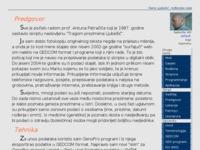 Frontpage screenshot for site: Dario Ljubešić: rodbinske veze (http://www.dario-ljubesic.iz.hr/ged/)