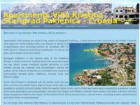 Slika naslovnice sjedišta: Apartmani Vila Kristina (http://www.villakristina.webs.com/)