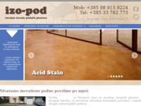 Slika naslovnice sjedišta: izo-pod (http://www.izo-pod.hr)