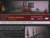 Slika naslovnice sjedišta: Kovačnica Trstenjak (http://www.kovacnica-trstenjak.hr)