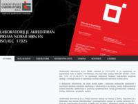 Slika naslovnice sjedišta: Građevinski laboratorij d.o.o. Zadar (http://www.gralab-zadar.hr)