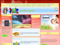 Frontpage screenshot for site: (http://www.pjesmicezadjecu.com)