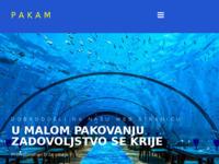 Slika naslovnice sjedišta: Pakam d.o.o. (http://www.pakiranje.hr/)