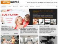 Slika naslovnice sjedišta: Alarmi i alarmni sustavi Visonic (http://sistem-nadzor.hr/)