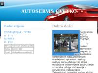 Slika naslovnice sjedišta: Autoservis i vučna služba Cvetko, Zaprešić (http://www.autoservis-cvetko.hr)