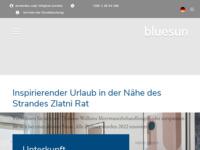 Frontpage screenshot for site: (http://www.hotelelaphusabrac.com/)