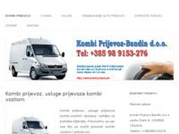 Slika naslovnice sjedišta: Kombi prijevoz - Usluge prijevoza kombijem (http://www.kombi-prijevoz.net)