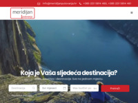 Frontpage screenshot for site: Meridijan putovanja last minute (http://www.meridijanputovanja.hr)