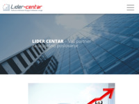 Slika naslovnice sjedišta: Lider-centar d.o.o. (http://www.lidercentar.hr)