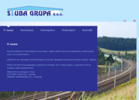 Frontpage screenshot for site: STUBA GRUPA d.o.o. (http://www.stuba-grupa.hr)