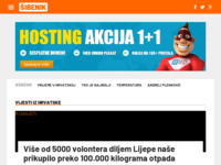 Slika naslovnice sjedišta: Šibenik portal (http://www.sibenik-hr.info)