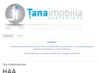 Frontpage screenshot for site: TANA Imobilia (http://www.tana-imobilia.hr)