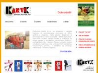 Slika naslovnice sjedišta: KartiK za unutarnju i vanjsku trgovinu te posredovanje (http://www.kartik.hr/)