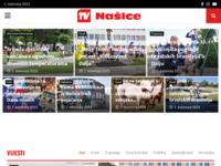 Frontpage screenshot for site: Našički TV i internet portal - Našice TV (http://www.nasice.com)