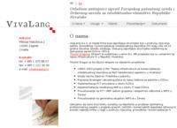 Frontpage screenshot for site: Zaštita autorskih prava i intelektualnog vlasništva; patenti - Vivalang d.o.o. (http://vivalang.hr/)