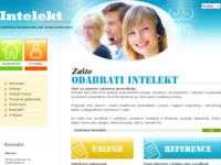 Frontpage screenshot for site: (http://www.intelekt-prevodjenje.hr)