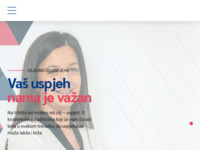 Frontpage screenshot for site: (http://www.fiscalis-cro.com)