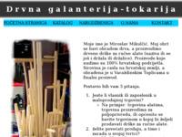 Slika naslovnice sjedišta: Drvna galanterija-tokarija (http://www.mikulcic.com)