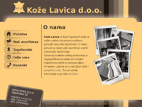 Slika naslovnice sjedišta: Koža - prodaja raznih vrsta kože (http://www.koza.hr)