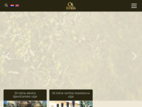 Frontpage screenshot for site: Maslinovo ulje Ol Istria (http://olistria.com.hr/)