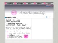 Frontpage screenshot for site: ApartmaniZG (http://apartmanizg.atspace.com)