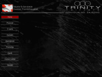 Frontpage screenshot for site: TRINITY haircare Hrvatska (http://trinity.ueuo.com/index.htm)