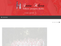 Frontpage screenshot for site: Kulturno prosvjetno društvo Sveta Klara (http://www.kpdsvetaklara.hr/)