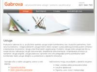 Slika naslovnice sjedišta: Gabrova.hr - računovodstvene usluge i porezno savjetovanje (http://www.gabrova.hr)