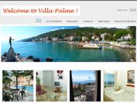 Frontpage screenshot for site: Villa Palme - Opatija - Luksuzan smještaj dostupan svima! (http://www.villa-palme.com.hr)