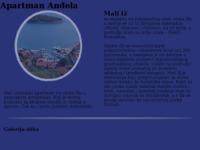 Frontpage screenshot for site: Apartmani Anđela (http://www.apartmani-andjela.com)
